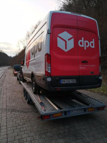 transport auto  din germania in cluj napoca dpd