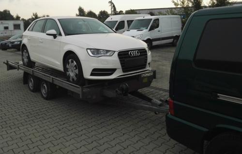 transport auto audi din germania in cluj napoca